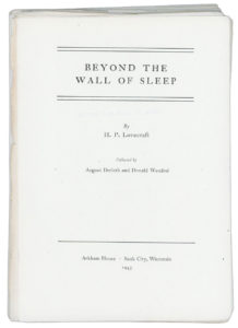 Beyond the Wall Proof